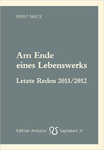 Am Ende eines Lebenswerks: Letzte Reden 2011/2012