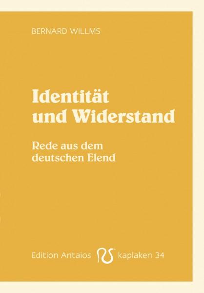 Identität und Widerstand. Rede aus dem deutschen Elend