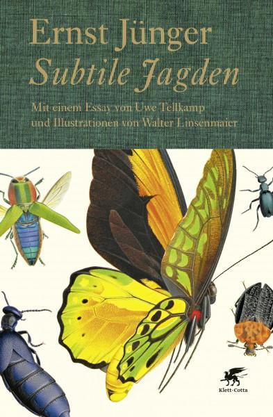 Subtile Jagden (bibliophile Neuausgabe; mit einem Essay von Uwe Tellkamp)