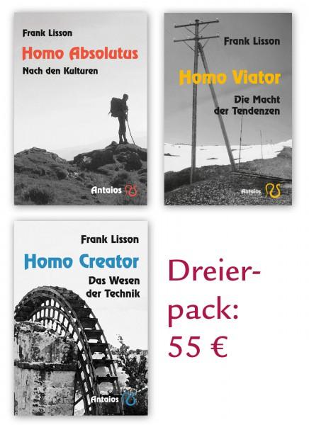 Homines-Trilogie PAKET (Absolutus + Viator + Creator)