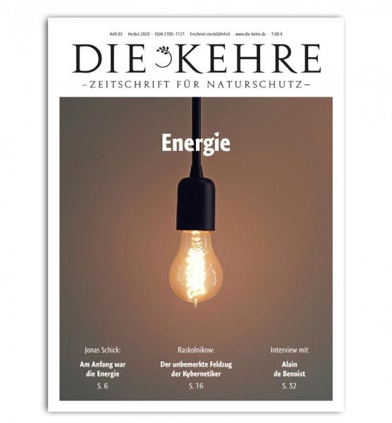 Die Kehre Heft 3/2020 – Energie
