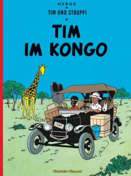Tim und Struppi – Tim im Kongo