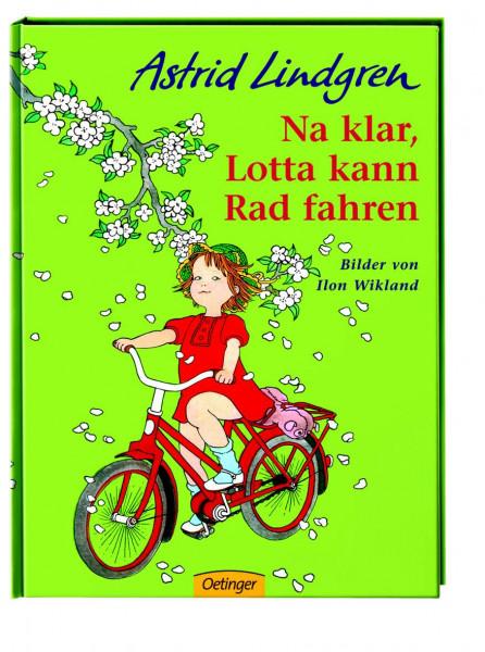 Na klar, Lotta kann Rad fahren