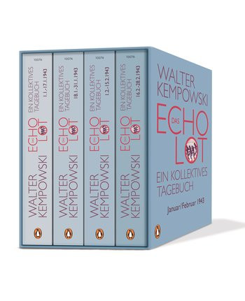 Das Echolot. Ein kollektives Tagebuch
